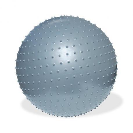 Piłka Fitness Meteor do masażu 75 cm z pompką