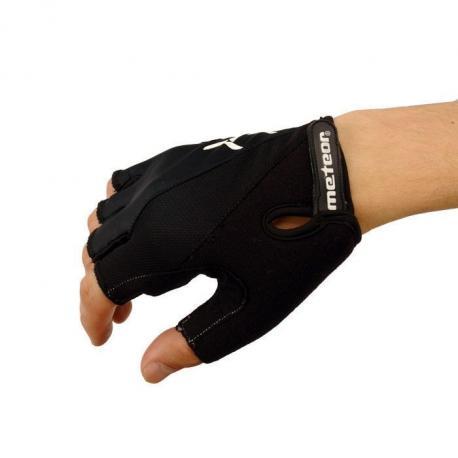 Rękawiczki rowerowe żelowe Meteor BX-3 czarne