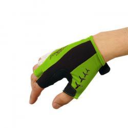 Rękawiczki rowerowe żelowe Meteor BX-4 zielone