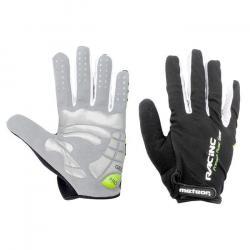 Rękawiczki rowerowe Meteor Racing zielone