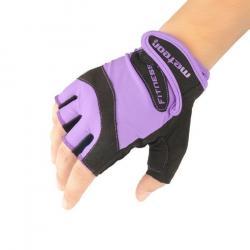 Rękawiczki fitness METEOR GRIP LADY VIOLET